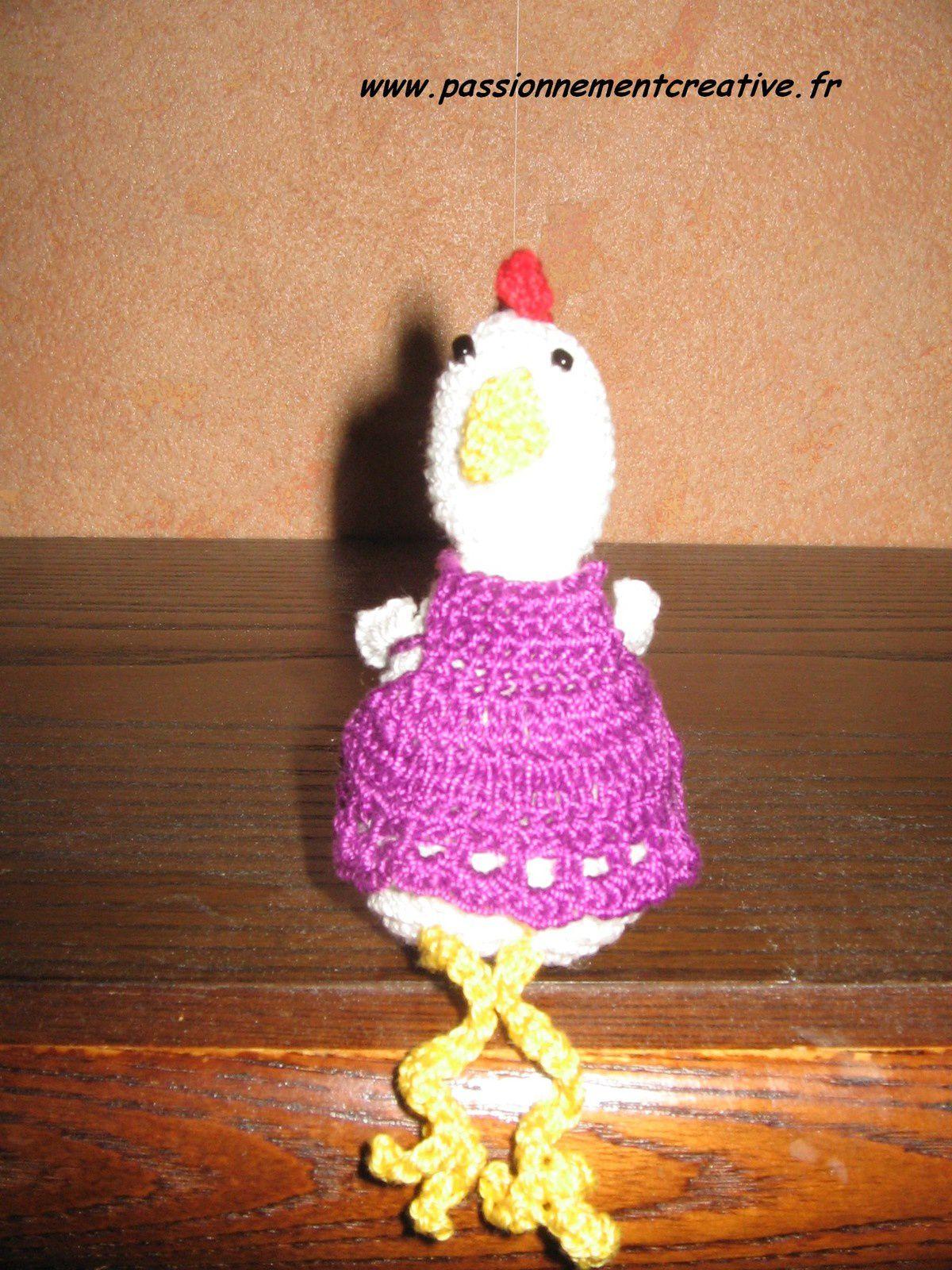 Des poules au crochet