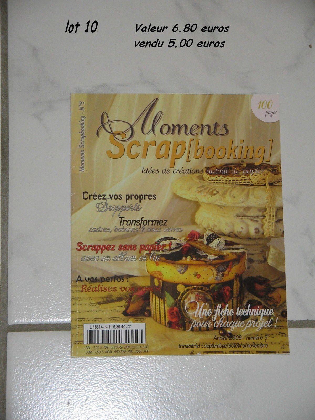 Livres de scrapbooking à vendre