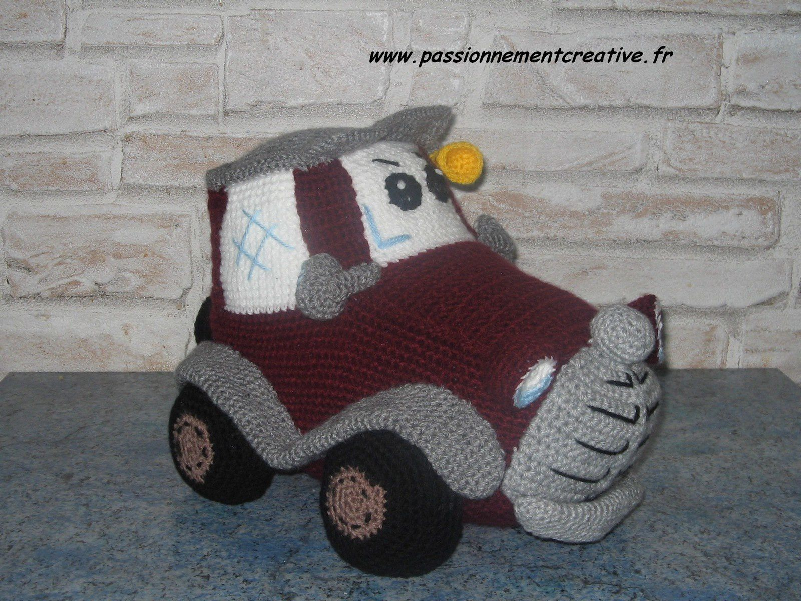 Voiture Delicious Crochet