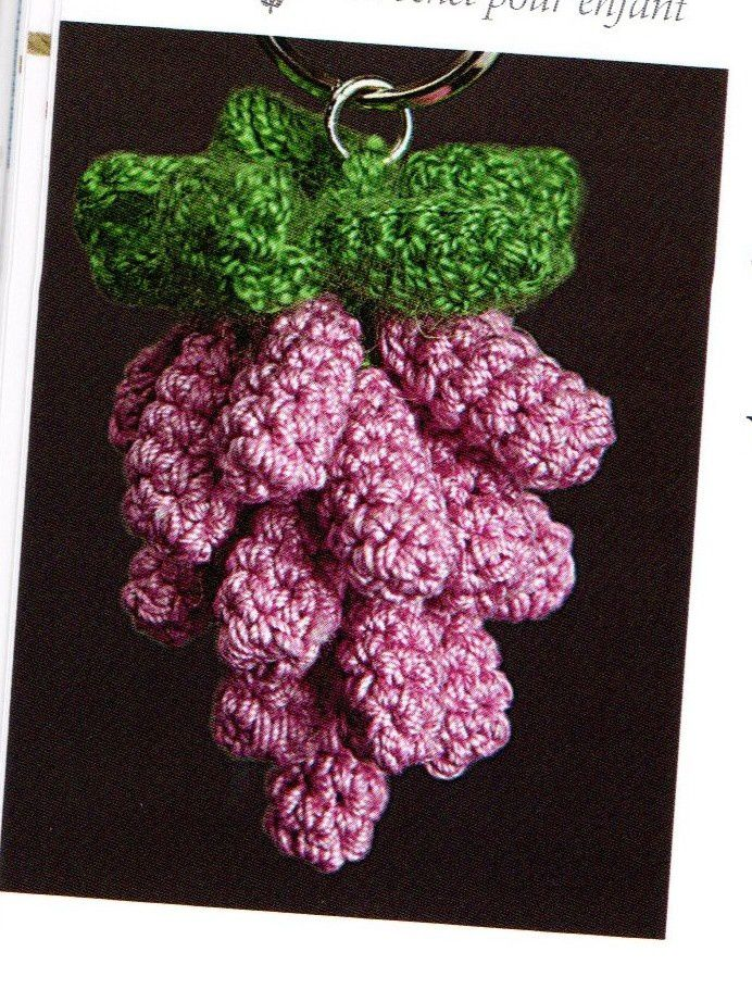 Tutoriel crochet - Grappe de raisin