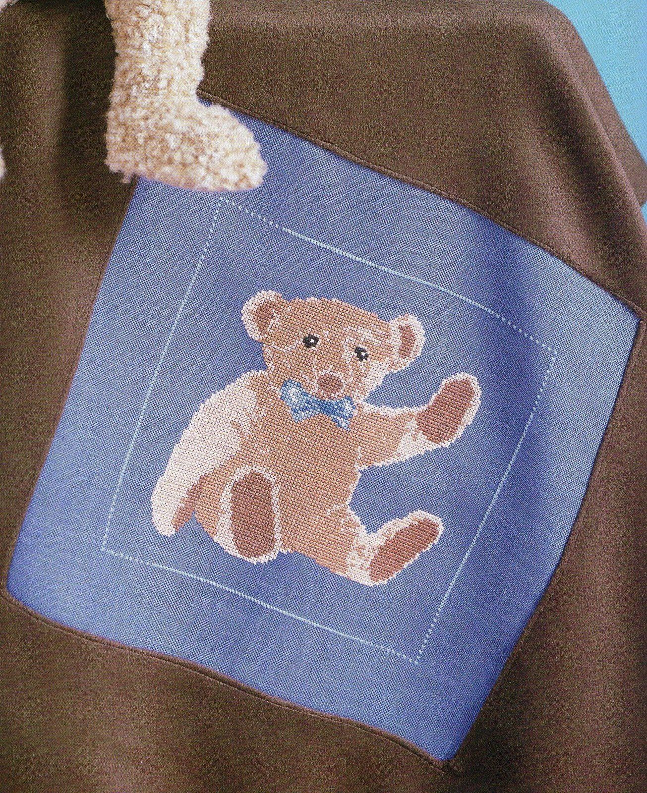 Tutoriel Broderie - Ours