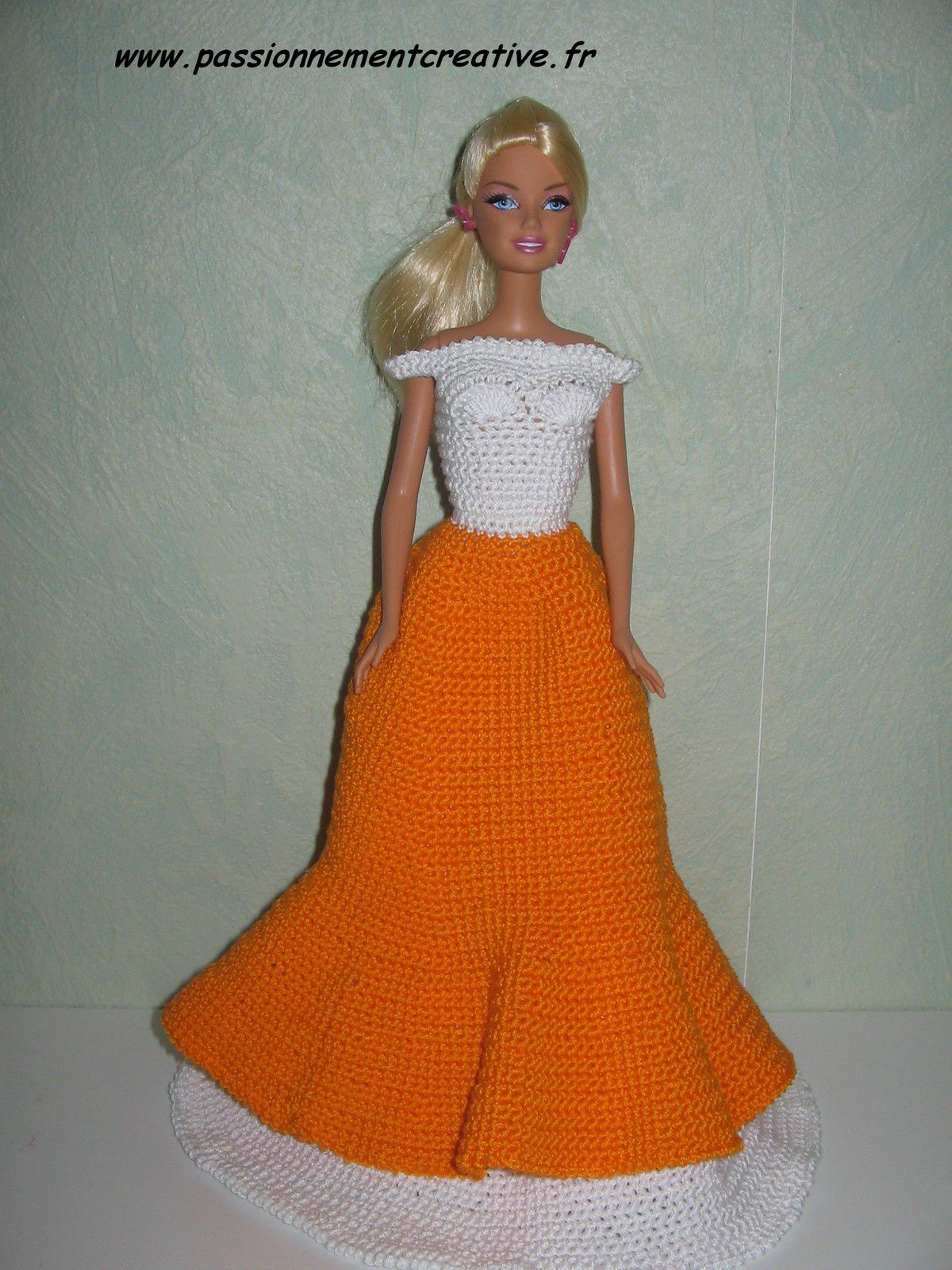 Tutoriel crochet - Barbie Antillaise