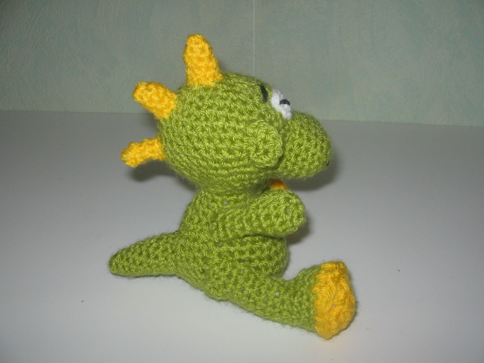 Dragon au crochet