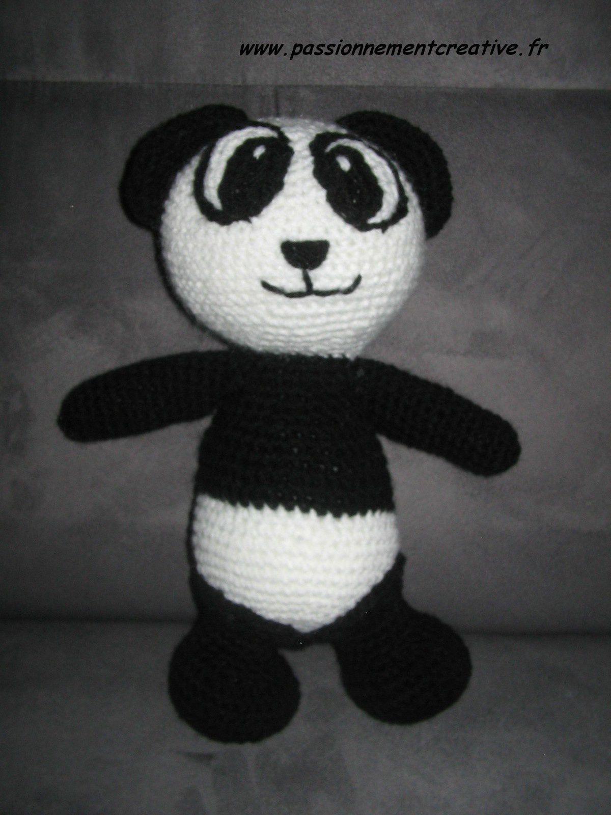 Un panda au crochet