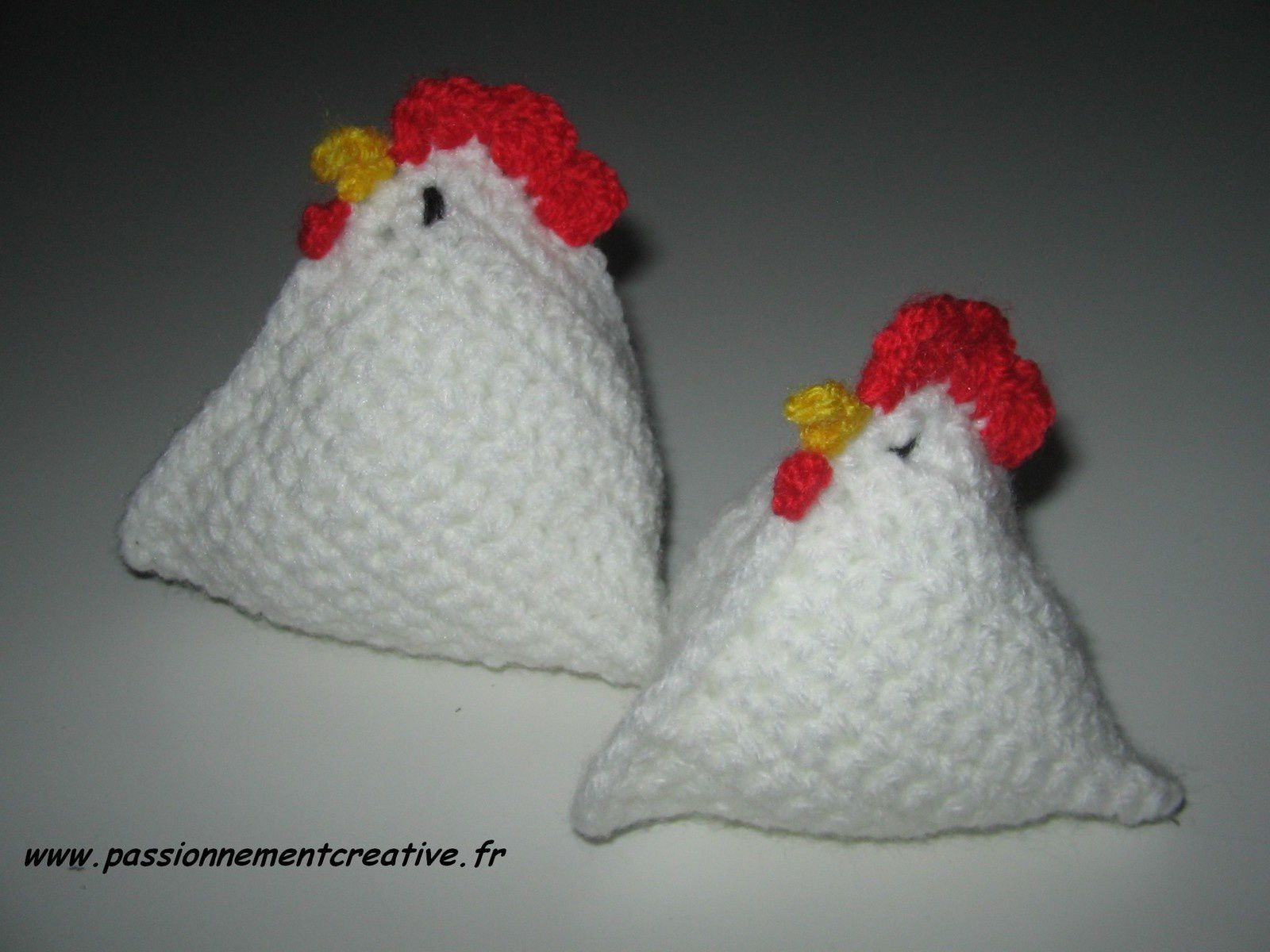 Poules berlingot passionnement cr ative for Poules decoration