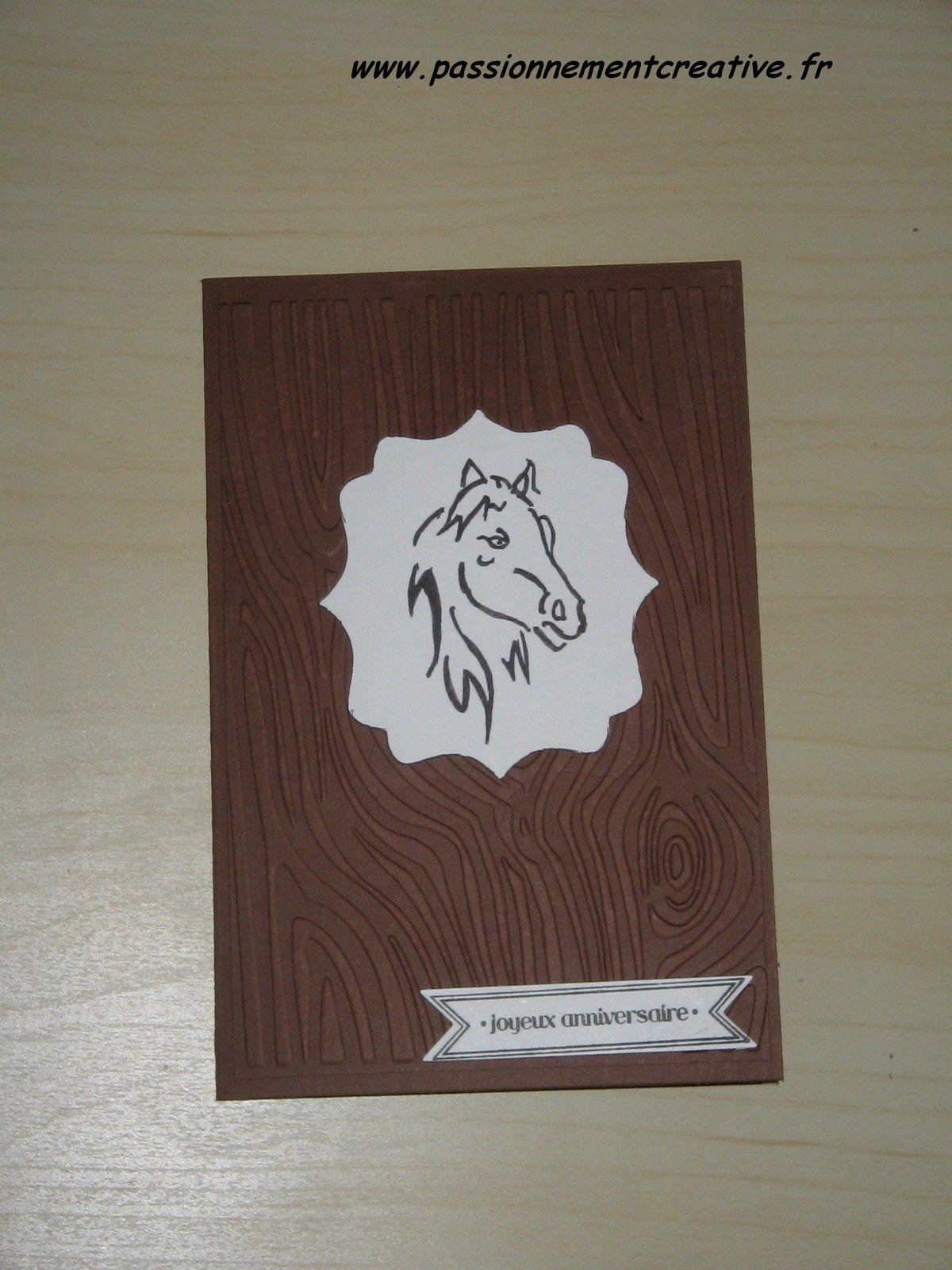 Cartes pour les passionnés de chevaux