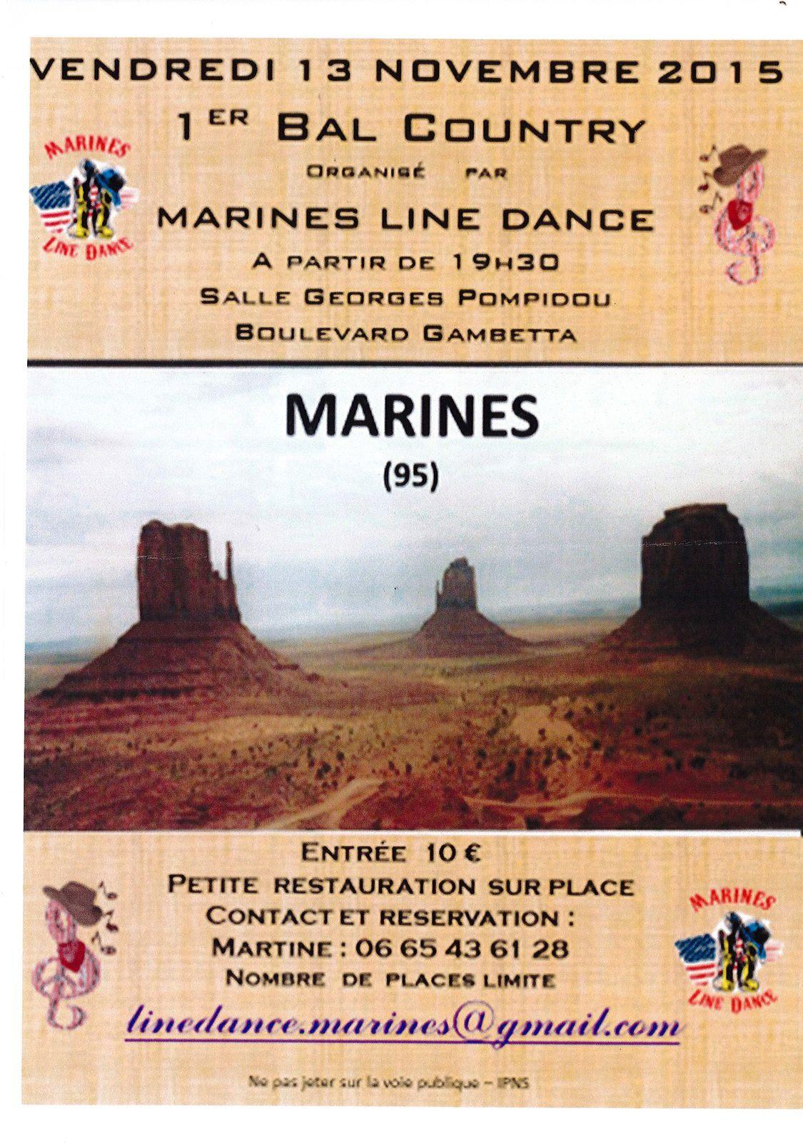 Ce vendredi 13 ya bal à Marines !