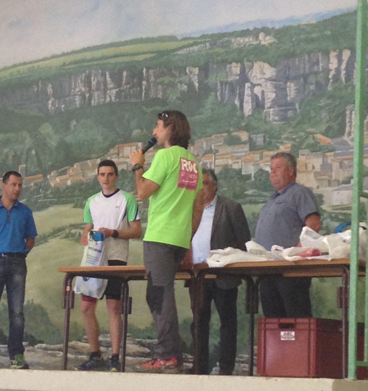 [Manifestation] Roq'Rando Rail à Roquefort : Remise de prix de la Ronde des Cabanières