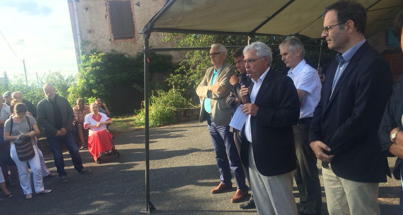 [Inauguration] Les douves d'Ennous à l'honneur sur la commune de St-Juery