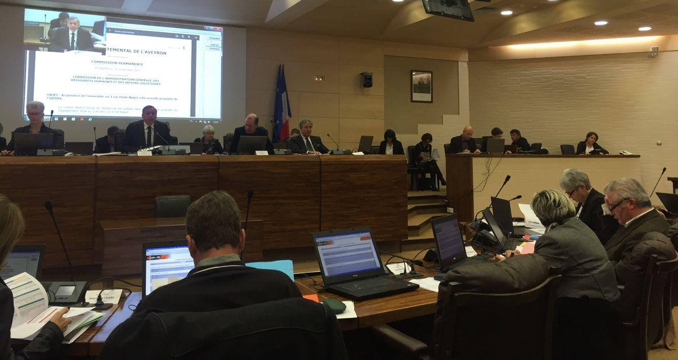 [Conseil Départemental] Présentation des dossiers départementaux relatifs au commerce et l'artisanat, lors de la Commission Permanente du 30 novembre