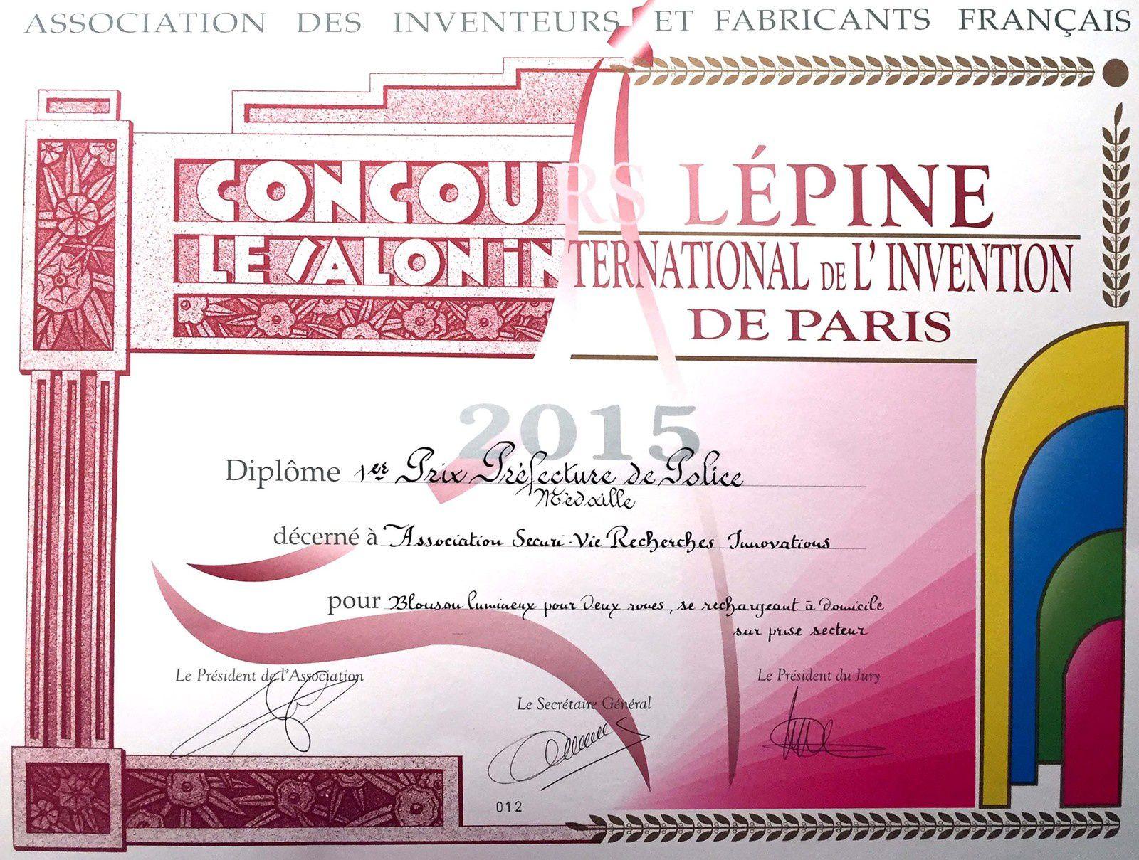 CONCOURS LEPINE 2015 - Press Book - Activités / Lycée La Providence