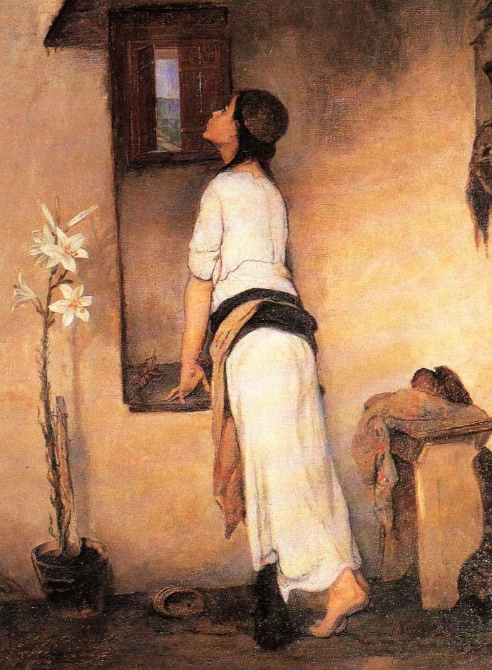 """L'attente"" - Nikiforos Lytras, 1895-1900"