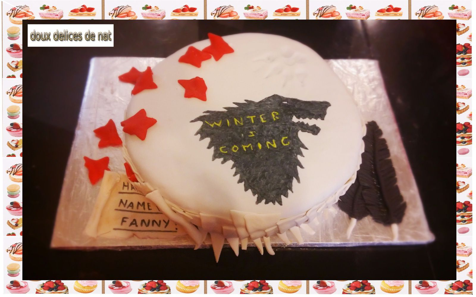 Gâteau Game Of Throne :