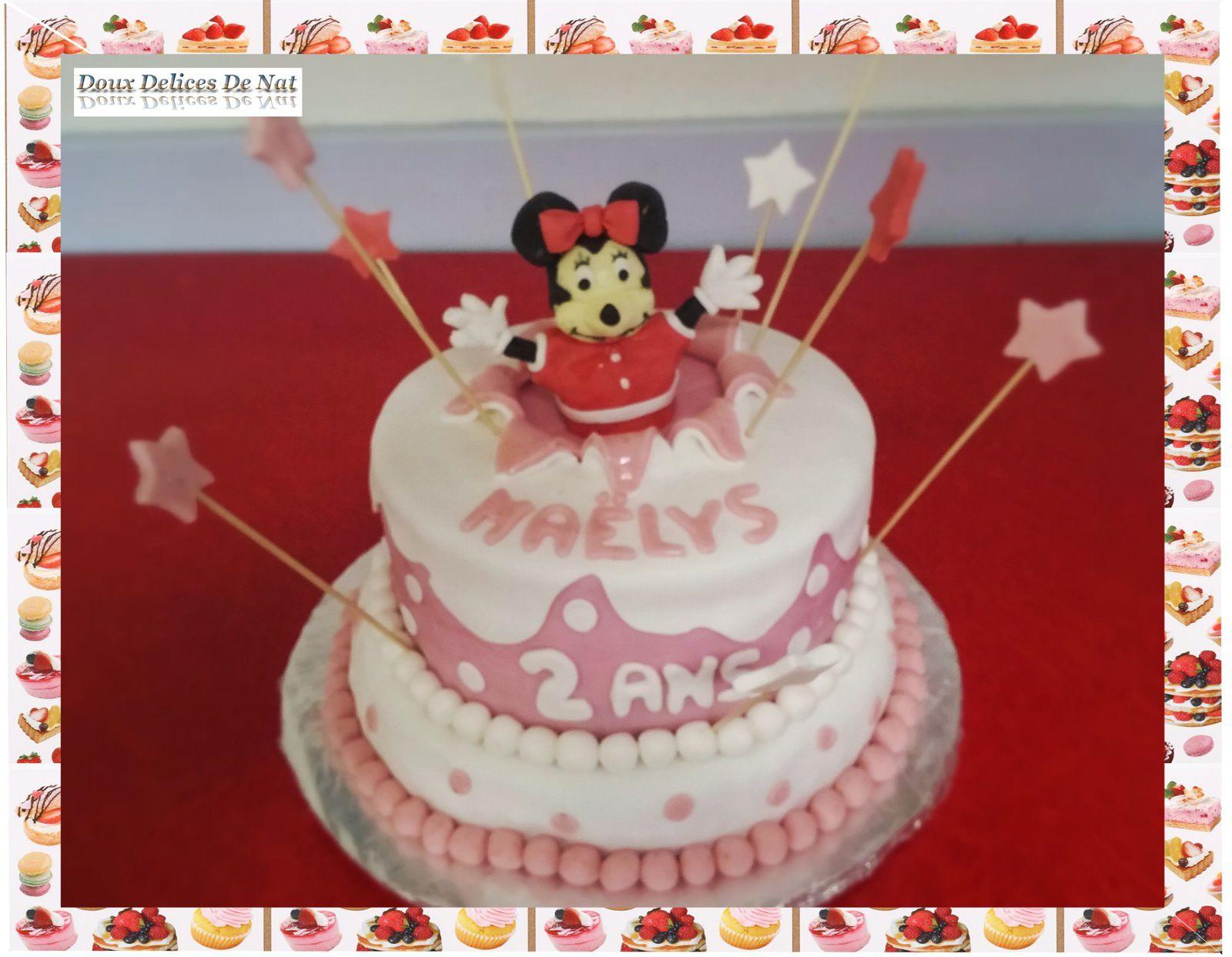 Gâteau Minnie :
