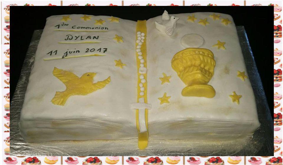 Gâteau communion :
