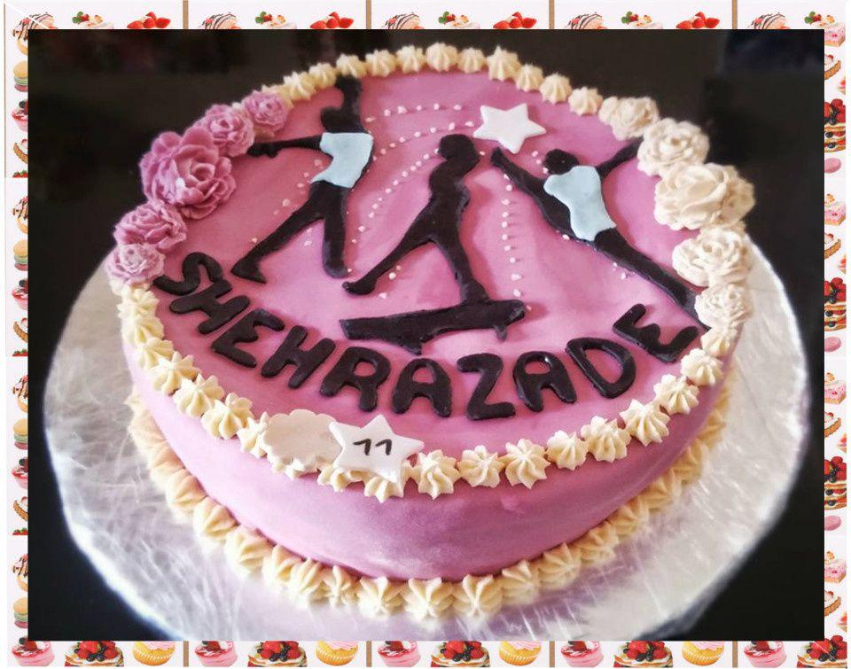 Gâteau gymnastes :
