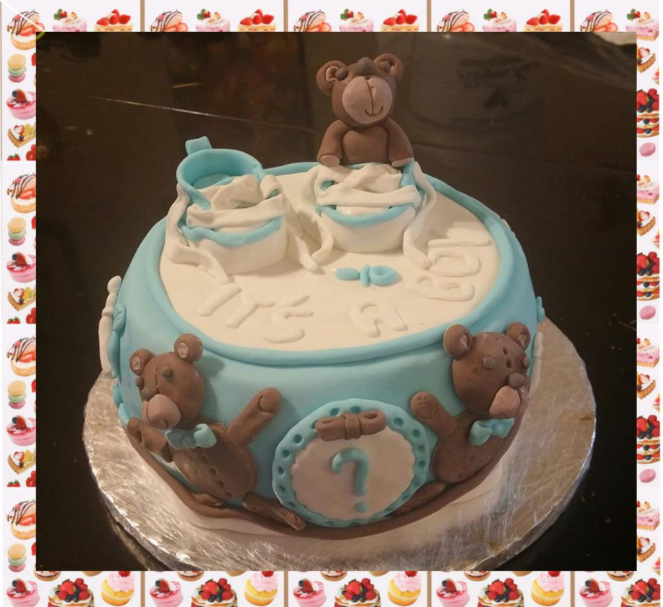 Gâteau baby shower :