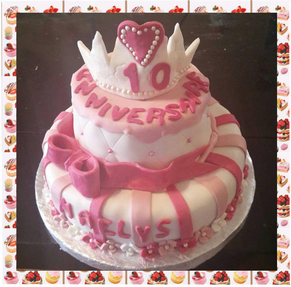 Gâteau de princesse :