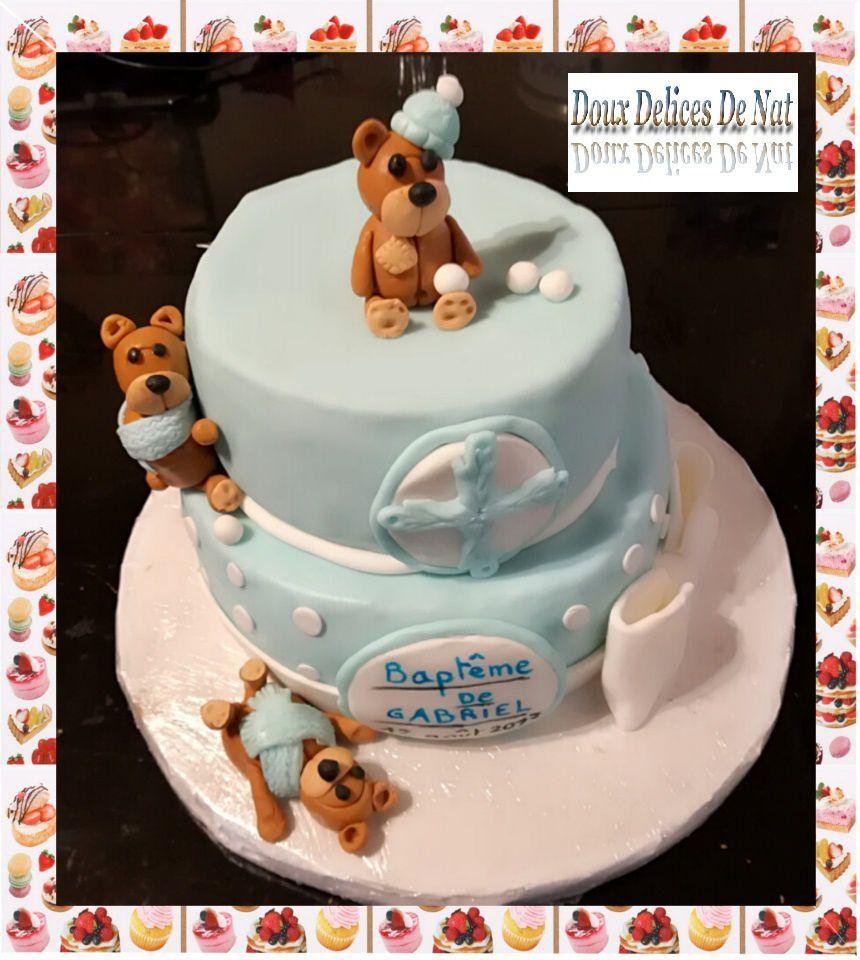Gâteau de baptême :