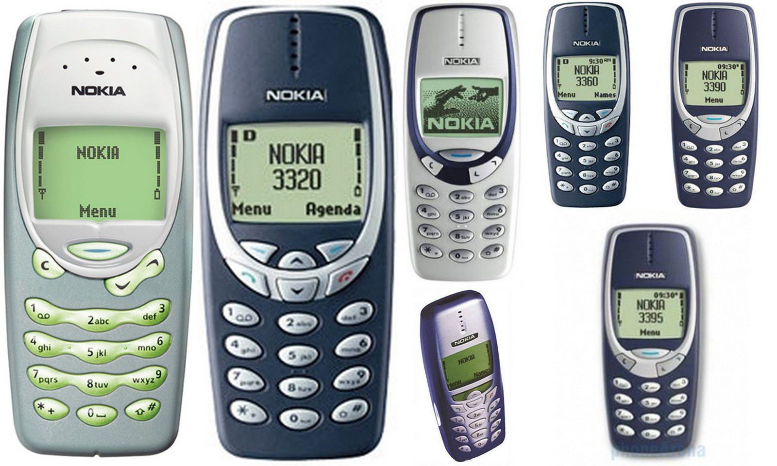 le t l phone portable nokia 3310 un exemple de robustesse histoire et volution des t l phones. Black Bedroom Furniture Sets. Home Design Ideas