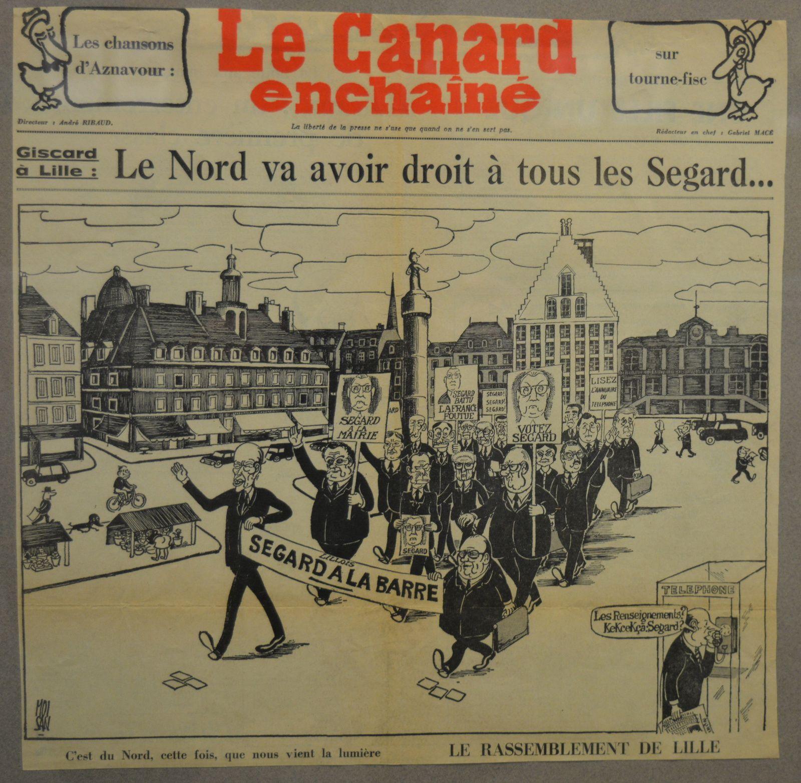 Norbert Ségard dans la presse.