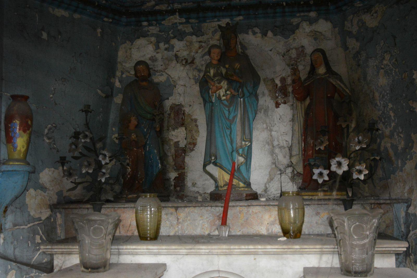 La chapelle Notre-Dame-de-Bon-Secours à Aniche - Photos : MG, 7 février 2016.