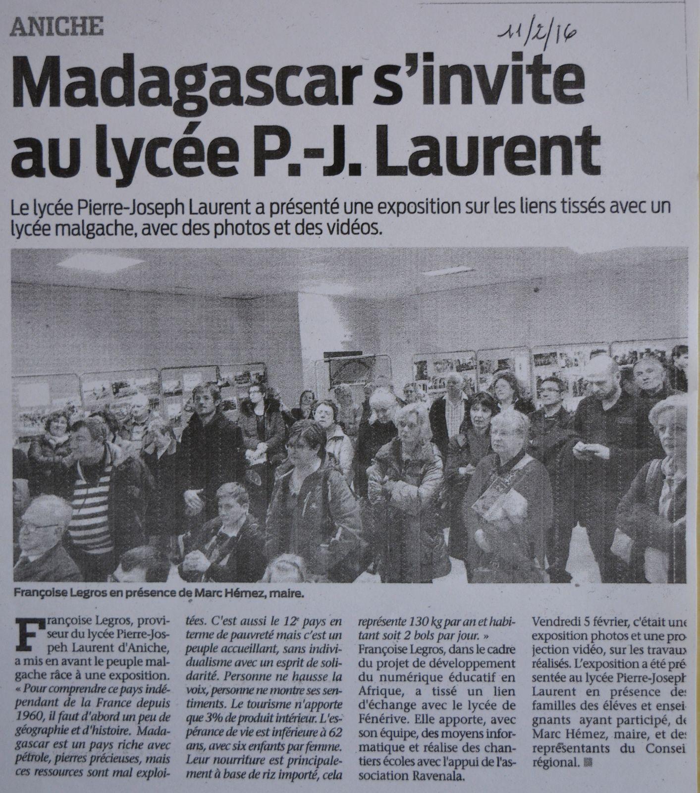 L'Observateur du Douaisis - Jeudi 11 février 2016.