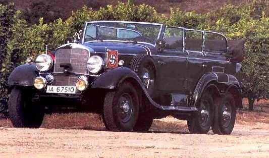 MERCEDES-BENZ Type G4 6 X 4 schwere Geläde-Personenkraftwagen (sgl-Pkw).