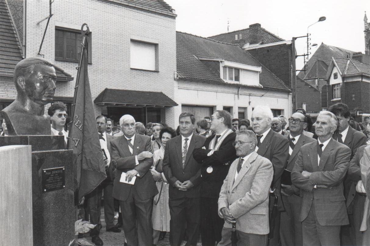 29 septembre 1991 : 50e anniversaire de la mort de Jules Domisse.