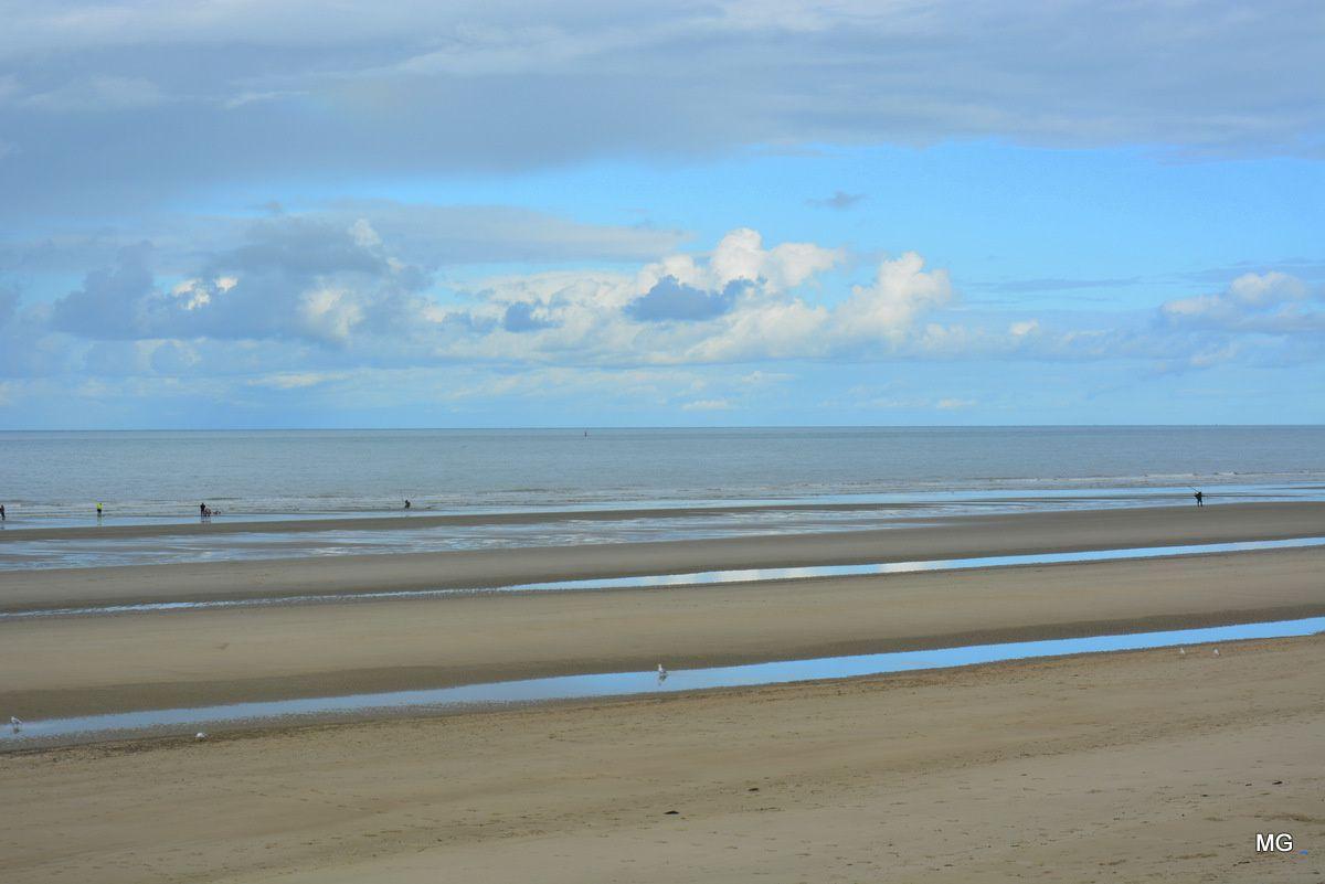 La plage de Leffrinckoucke.