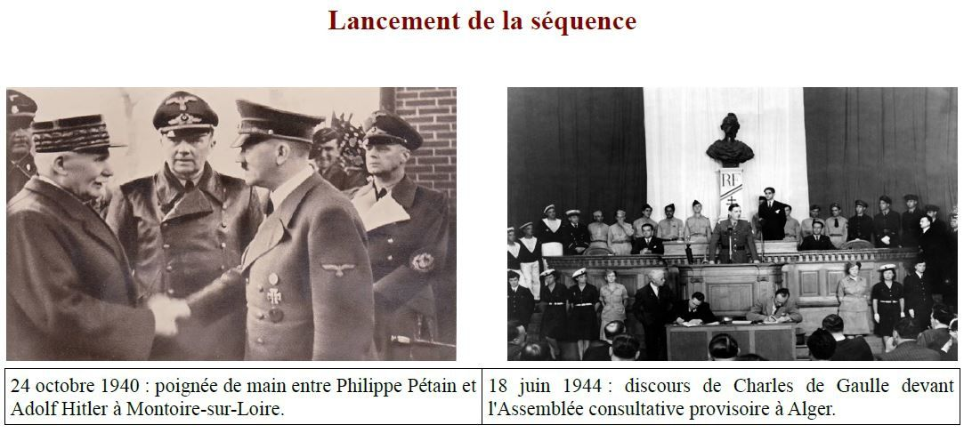 Le gouvernement de Vichy et la collaboration