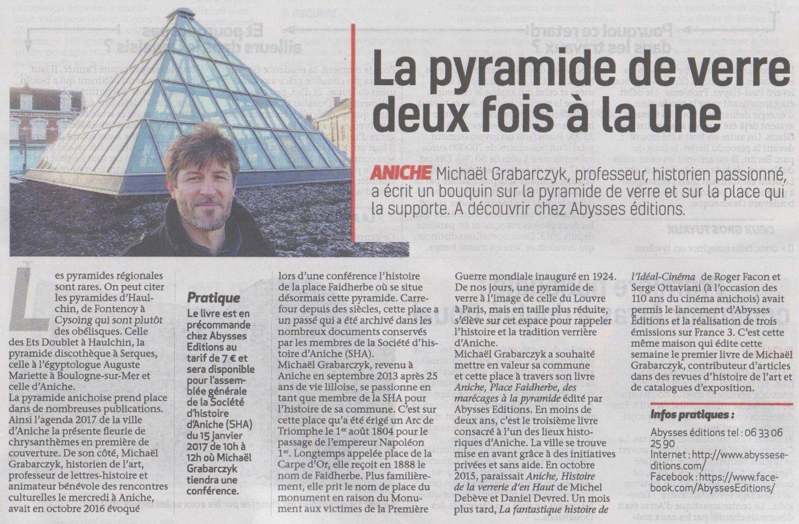 L'Observateur du Douaisis - 5 janvier 2017.