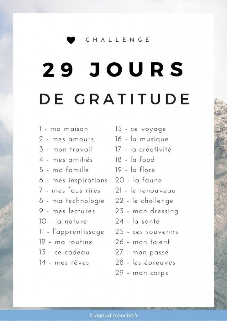 29 jours de gratitude: jour 25