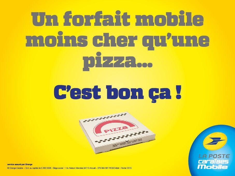 Quand votre forfait mobile est moins cher qu'une pizza...