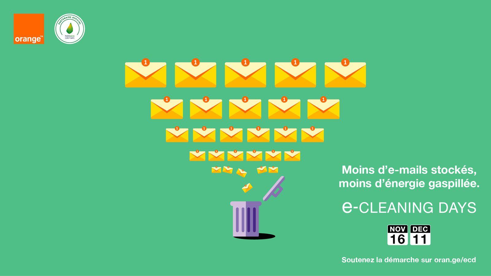 Quand vos e-mails polluent la planète...