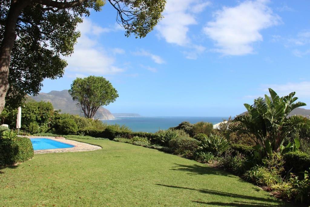 Notre jardin avec vue sur la baie