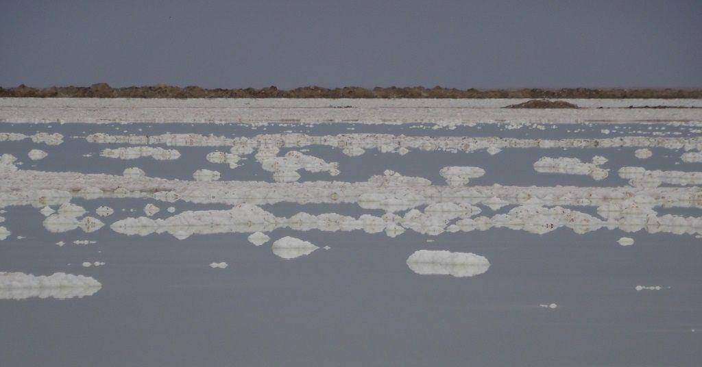 Les salines et la production de sel marin