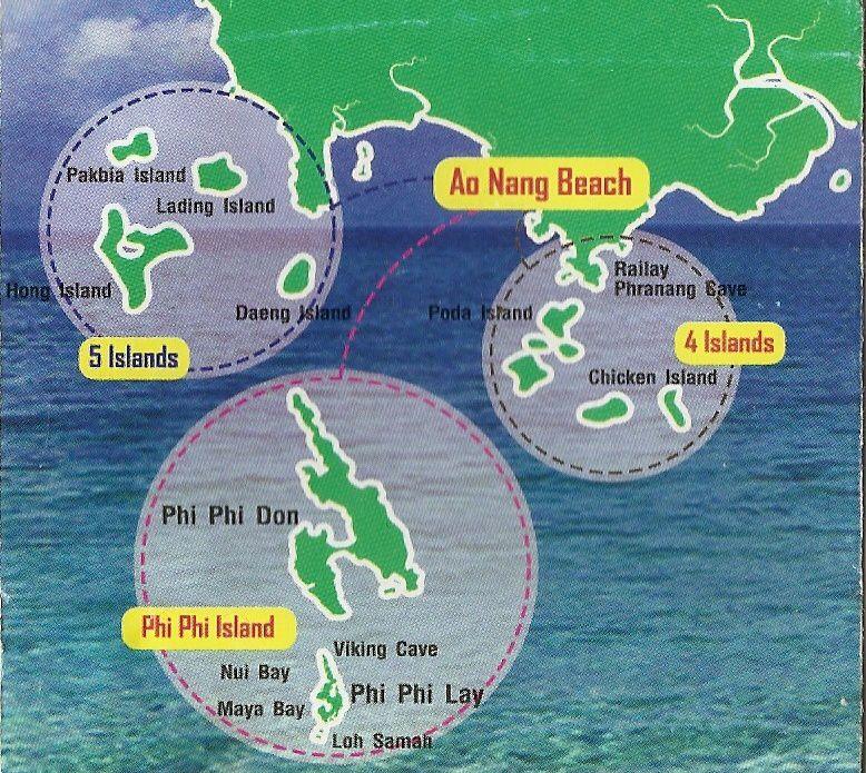 Lili en Thailande du Sud