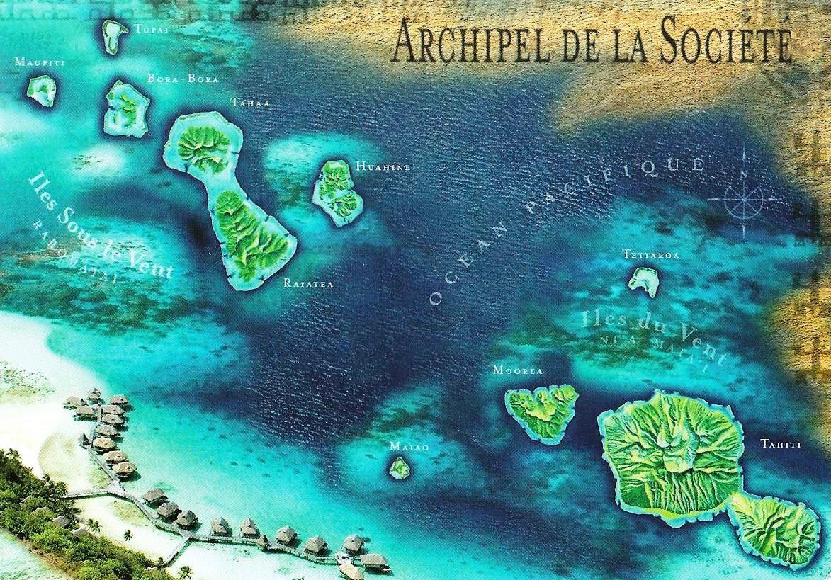 Lili en Polynésie pour son voyage de noces