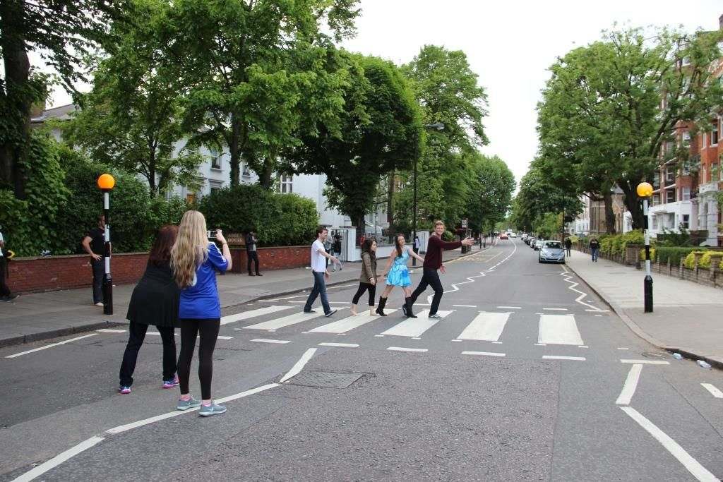 Le passage piéton d'Abbey Road