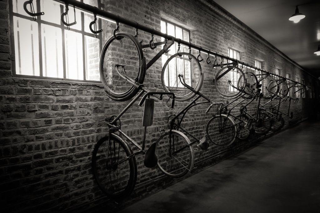 Le garage à vélos