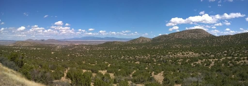 Paysages de l'US 14 alias la Turquoise Trail