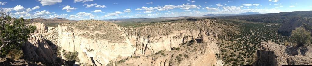 Panorama depuis la Mesa (AM/PM)