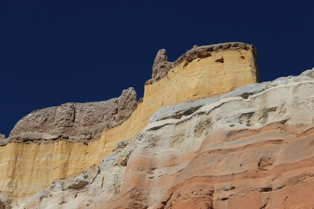 Echo Amphitheatre et ses falaises colorées