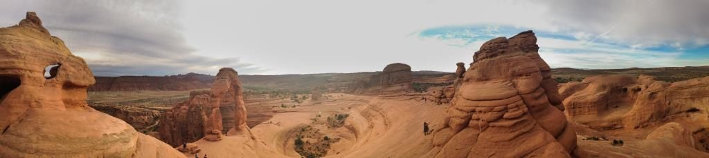 Panorama sur Delicate Arch