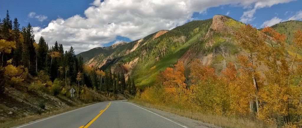 Le long de la Million Dollar Highway