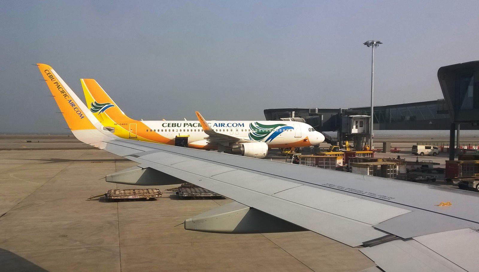 Entre Hong Kong et Cebu