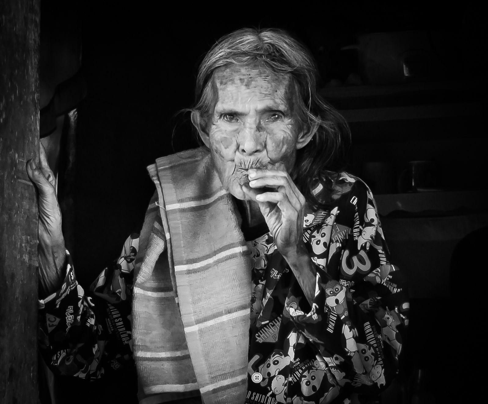 La mamie de la famille âgée de 84 ans.