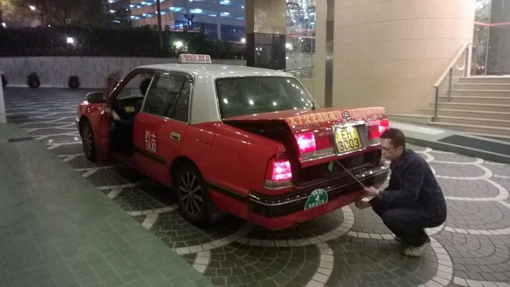 Taxi Hongkongais