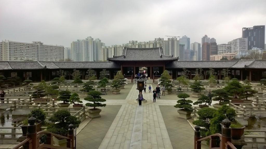 Le couvent de Chi Lin